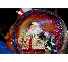 Snow Globe. Photographic Print