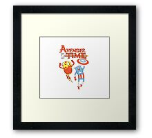 Avenger time Framed Print