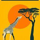 TANZANIA Travel Poster by JazzberryBlue