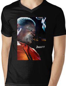 Jazz Mens V-Neck T-Shirt