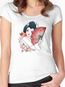 Geisha Women's Fitted Scoop T-Shirt