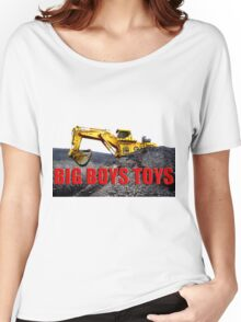 Big Boys Toys T-Shirt Women's Relaxed Fit T-Shirt