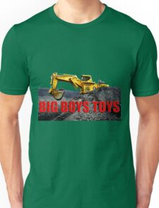 Big Boys Toys T-Shirt Unisex T-Shirt