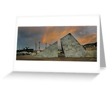 Rainbows and Pyramids Greeting Card