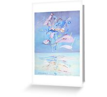 Energy above water Greeting Card