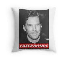 Benedict Cumberbatch Cheekbones Throw Pillow