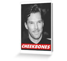Benedict Cumberbatch Cheekbones Greeting Card