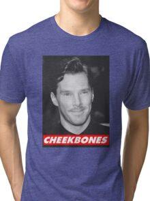 Benedict Cumberbatch Cheekbones Tri-blend T-Shirt