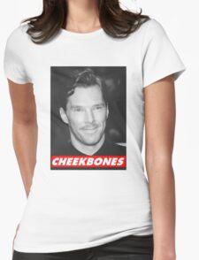 Benedict Cumberbatch Cheekbones Womens Fitted T-Shirt