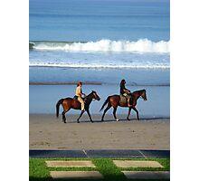 Bali Beach Scene Photographic Print