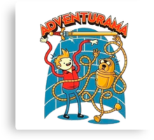 Adventurama Canvas Print