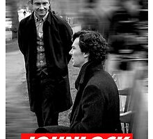 Johnlock by jessvasconcelos