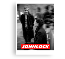 Johnlock Canvas Print