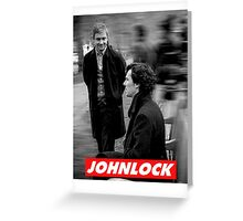 Johnlock Greeting Card
