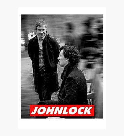 Johnlock Photographic Print