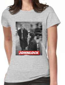 Johnlock Womens Fitted T-Shirt