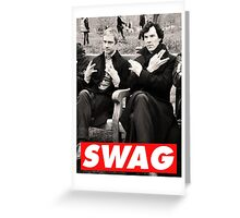 SWAGLOCK Greeting Card