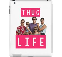 Thug life - full house iPad Case/Skin