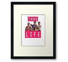 Thug life - full house Framed Print