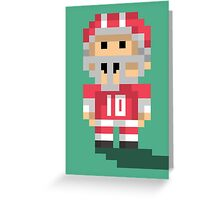 Tiny Touchdown Greeting Card
