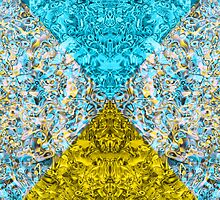 Psychedelic Triangle Dream Invert by FireFairy