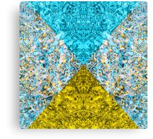 Psychedelic Triangle Dream Invert Canvas Print