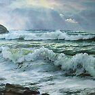 Storm in September by Sokolovskaya