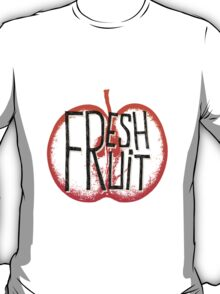Apple fresh fruit illustration T-Shirt