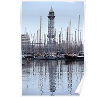yachts Marina Poster