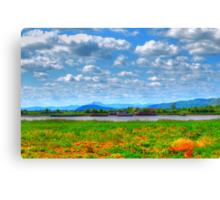 Riverside View Canvas Print