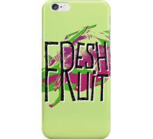 Pitaja fresh fruit illustration iPhone Case/Skin
