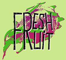 Pitaja fresh fruit illustration by ONiONAstudio