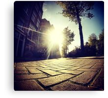 Shine street Canvas Print