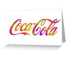 Coca Cola Pop Greeting Card