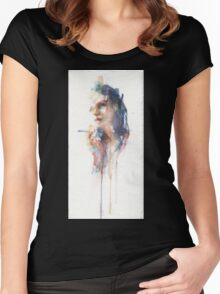 Virginia - Face Navigation series Women's Fitted Scoop T-Shirt