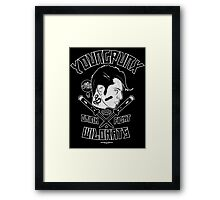 Young Punx / Wildkats Framed Print