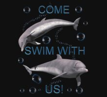 Come swim with us! by Lisa  Weber