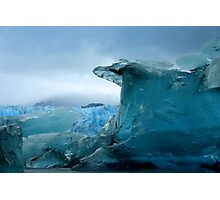 Blue Berg Photographic Print