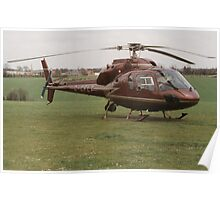 Eurocopter AS355 Ecureuil 2 - F1 Twin Squirrel Poster