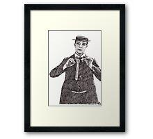 'Buster Keaton' Framed Print