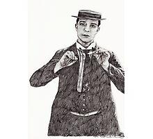 'Buster Keaton' Photographic Print