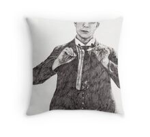 'Buster Keaton' Throw Pillow