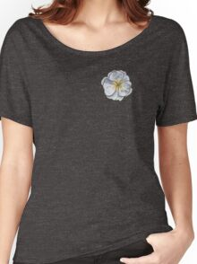 Primrose White Women's Relaxed Fit T-Shirt