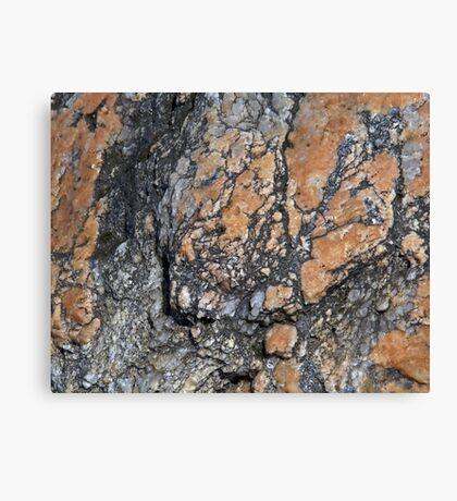 Quartz Terrain Canvas Print