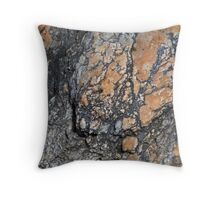 Quartz Terrain Throw Pillow