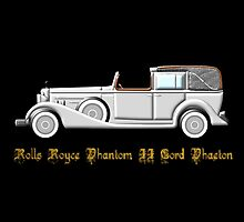 Rolls Royce Phantom II Cord Phaeton - all products except duvet by Dennis Melling