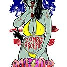 Zombie Groupie by deerokone