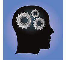 Mind gear Photographic Print