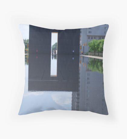 Reflecting memorial Throw Pillow