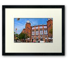 Plaza de Toros Monumental de Barcelona Framed Print